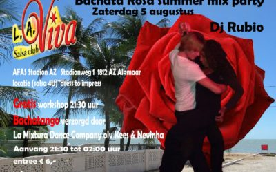 Bachata Rosa summer mix party
