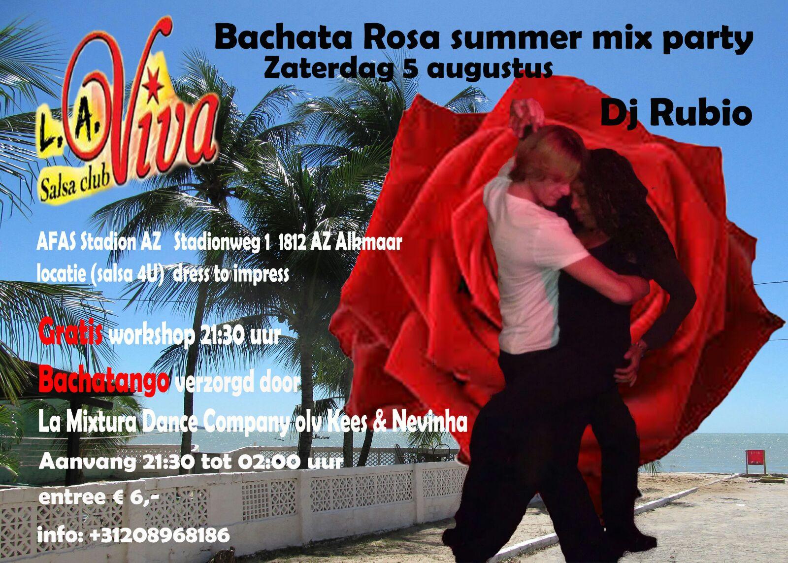 Bachata Rosa summer mix party